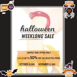 Halloween Weeklong SALE